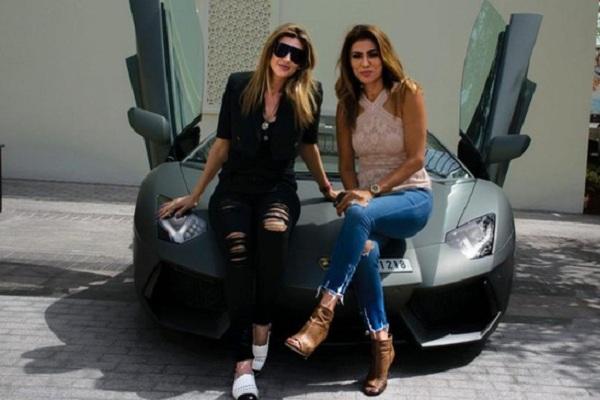 """Hội người đẹp và xe """"chất""""nhất Dubai"""