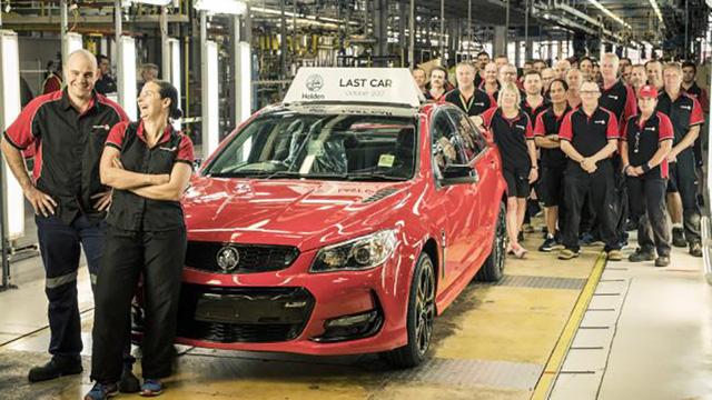 """chấm dứt công nghiệp ô tô """"made in Autralia"""""""