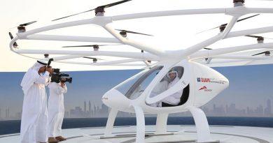 Dubai : Thử nghiệm Taxi bay đầu tiên trên thế giới