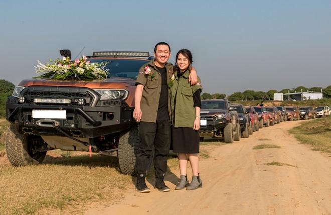 Rước dâu bằng dàn xe bán tải, dàn 50 xe bán tải rước dâu
