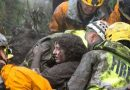 Bé gái tuổi thoát chết thần kỳ dù bị chôn vùi trong vụ lở bùn đất