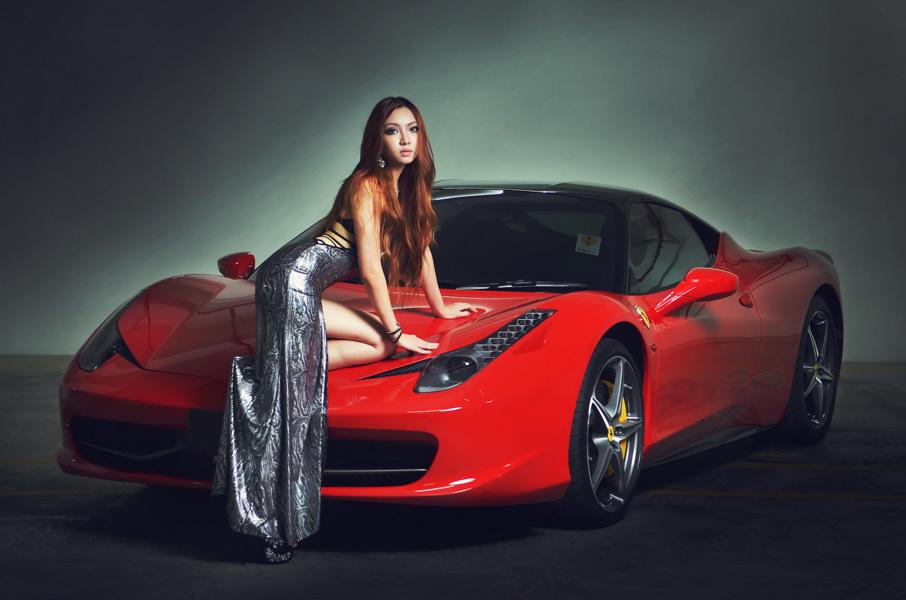 người đẹp và siêu xe