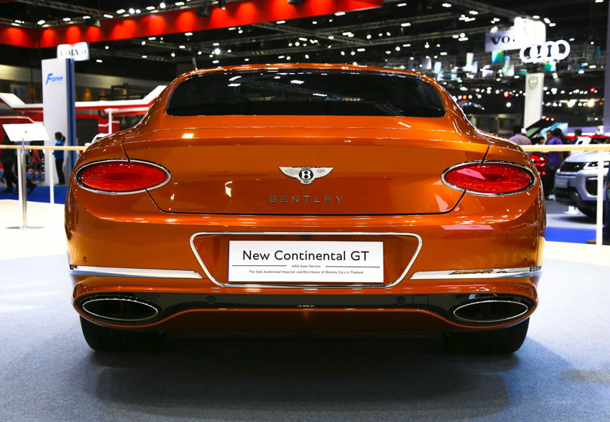 Bentley Continental GT 2018: Siêu xe tuyệt tác từ Anh Quốc