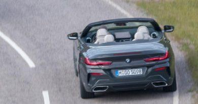 Hãng xe Đức chưa công bố giá bán phiên bản mui trần chiếc BMW serie 8.
