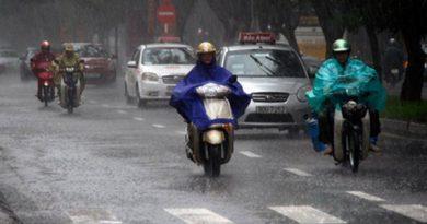 Thời tiết miền Bắc sẽ mưa mát cả tuần này.