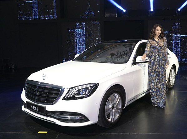 Mẫu xe Mercedes-Benz S450L tại triển lãm Mercedes-Benz Fascination 2018