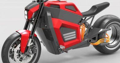 Siêu môtô điện bánh không trục