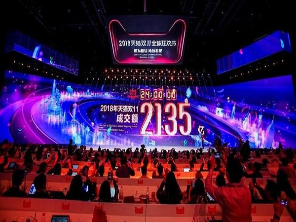 """Alibaba đạt doanh số kỷ lục trong """"ngày độc thân"""""""
