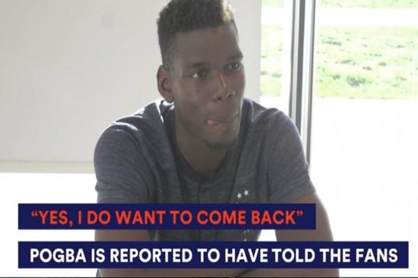 Pogba vẫn giữ ý định trở về Juventus?