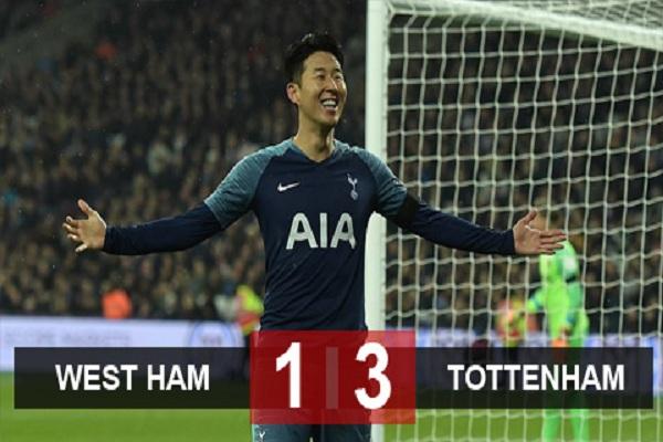 West Ham 1-3 Tottenham