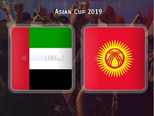 Nhận định UAE vs Kyrgyzstan
