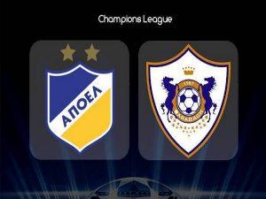 Nhận định APOEL Nicosia vs Qarabag, 0h00 ngày 7/08