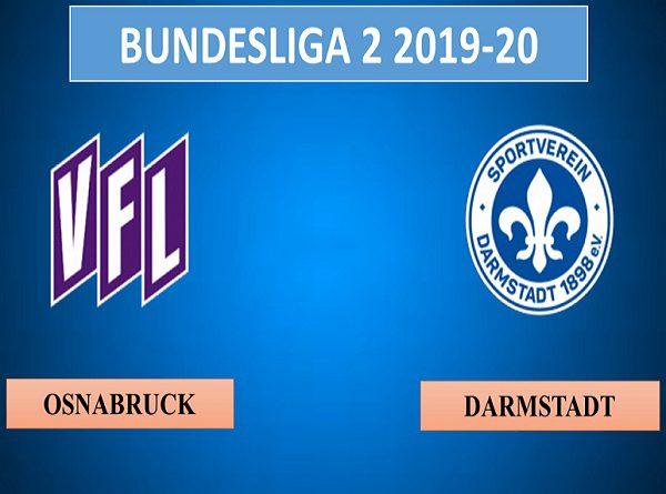 Nhận định Osnabruck vs Darmstadt, 1h30 ngày 20/08