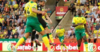 Man City bất ngờ gục ngã trước tân binh Norwich City