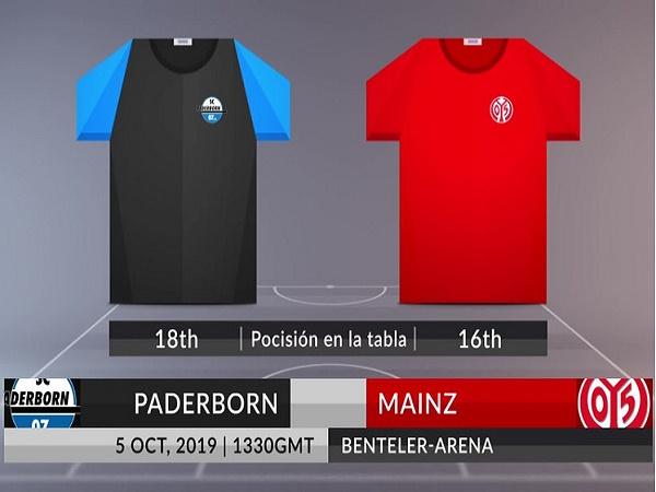 Nhận định Paderborn vs Mainz, 20h30 ngày 05/10