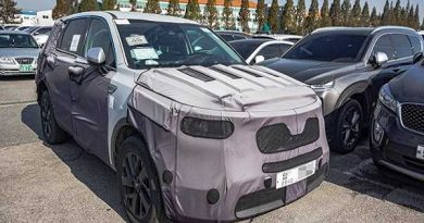 Kia Sorento 2020 thế hệ mới chạy thử nghiệm tại Hàn Quốc