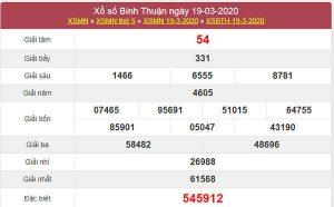 Soi cầu XSBTH 26/3/2020 - KQXS Bình Thuận hôm nay
