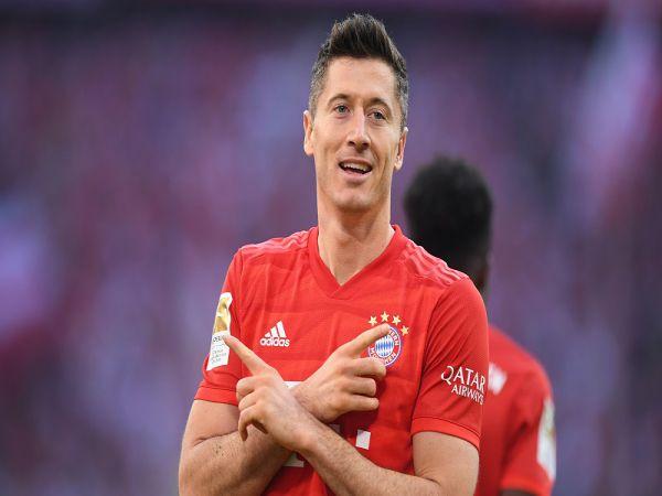 Lewandowski đang dẫn đầu danh sách Vua phá lưới Bundesliga