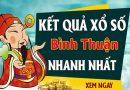 Soi cầu XS Bình Thuận chính xác thứ 5 ngày 09/07/2020