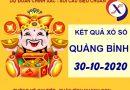 Soi cầu kết quả xổ số Quảng Bình thứ 5 ngày 29-10-2020