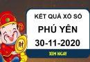 Soi cầu kết quả XSPY thứ 2 ngày 30/11/2020
