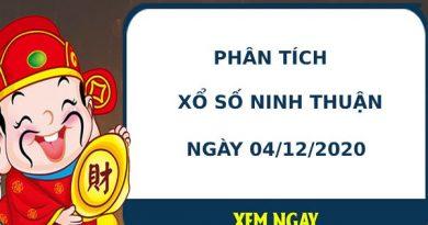 Phân tích kết quả XS Ninh Thuận ngày 04/12/2020