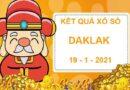 Soi cầu xổ số Daklak thứ 3 ngày 19/1/2021