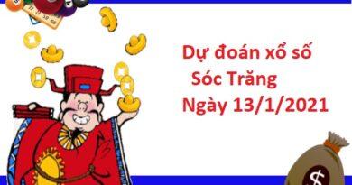 Dự đoán xổ số Sóc Trăng 13/1/20201