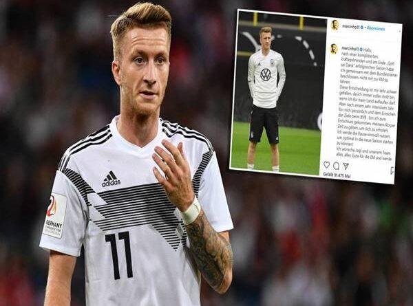 Tin bóng đá ngày 19/5: Reus tuyên bố không tham dự Euro 2020