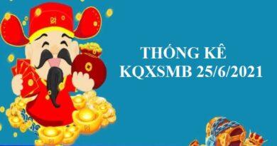 Thống kê chi tiết KQXSMB 25/6/2021