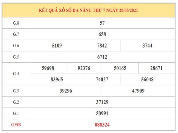 Nhận định KQXSDNG ngày 2/6/2021 dựa trên kết quả kì trước