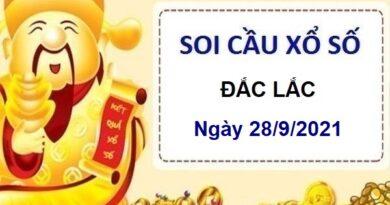 Soi cầu KQXSDLK ngày 28/9/2021