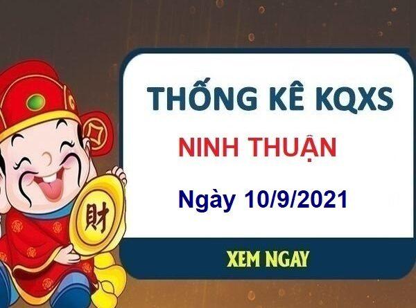 Thống kê KQXSNT ngày 10/9/2021