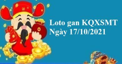 Loto gan KQXSMT 17/10/2021 hôm nay