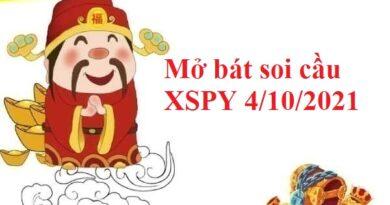 Mở bát soi cầu KQXSPY 4/10/2021